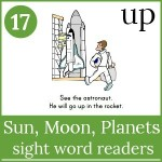 sun moon planets emergent readers 150x150 Free Printables