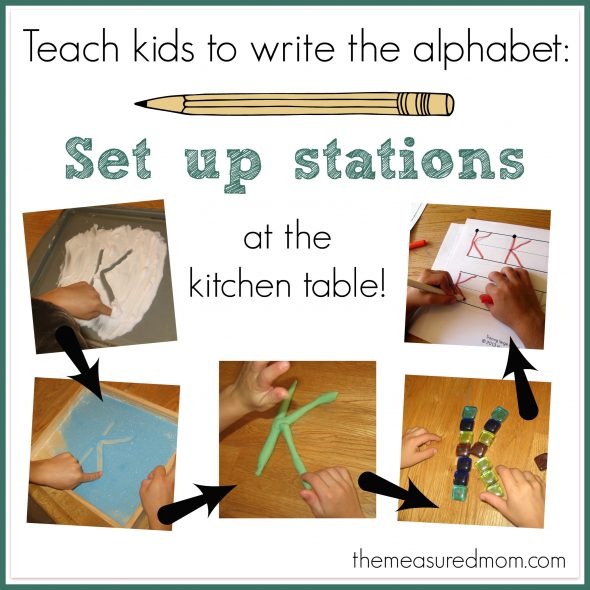 Prepare Your Child for Writing