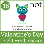 valentines day sight word readers 150x150 Free Printables