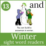 winter sight word readers 150x150 Free Printables