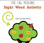 Apple Tree Sight Words the measured mom e1384998913101 150x146 Free Printables