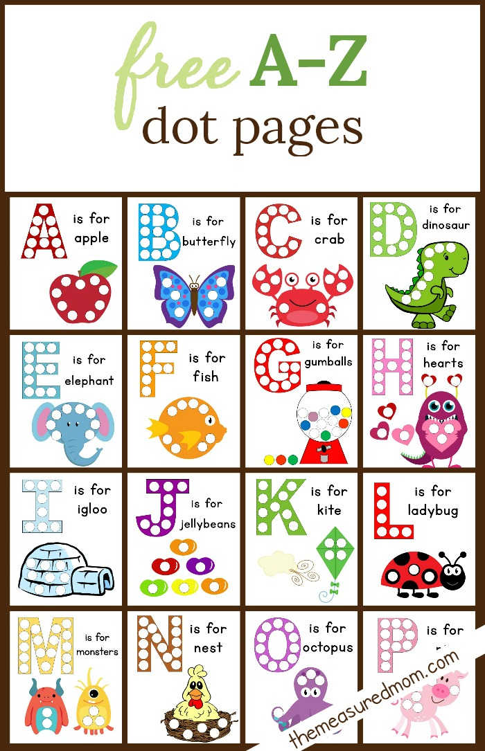 Dot Sticker Pages
