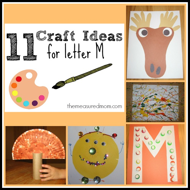 Letter M Crafts Preschoolers on Letter F Crafts For Preschoolers