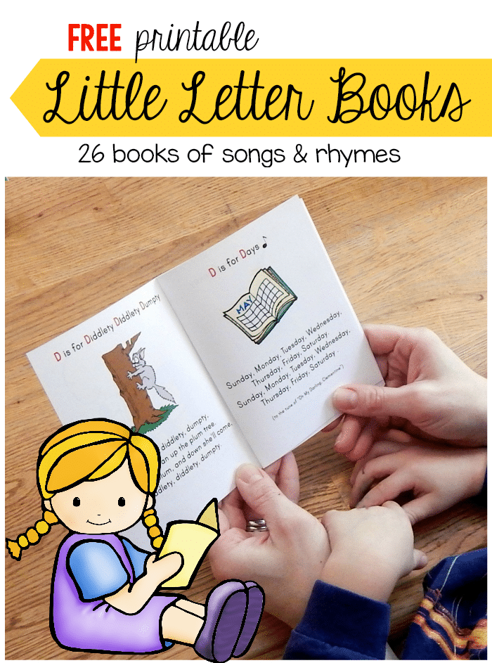 Free Little Letter Book Collection on 1st grade color by number