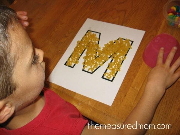 fun handwriting practice for preschoolers (1) - the measured mom