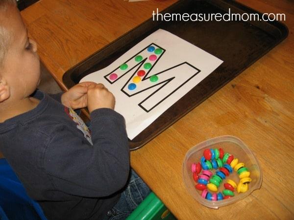 fun handwriting practice for preschoolers (2) - the measured mom
