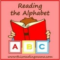 reading the alphabet button 125