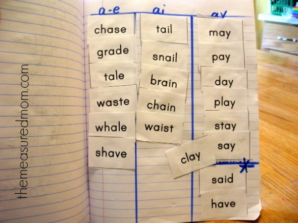 Spelling Long A Words A Complete 5 Day Lesson Plan With