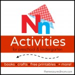 Letter N Activities the measured mom 150x150 How to teach the alphabet to preschoolers