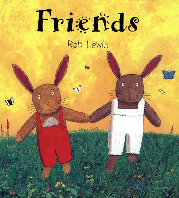 friends rob lewis A Giant List of Books about Friendship