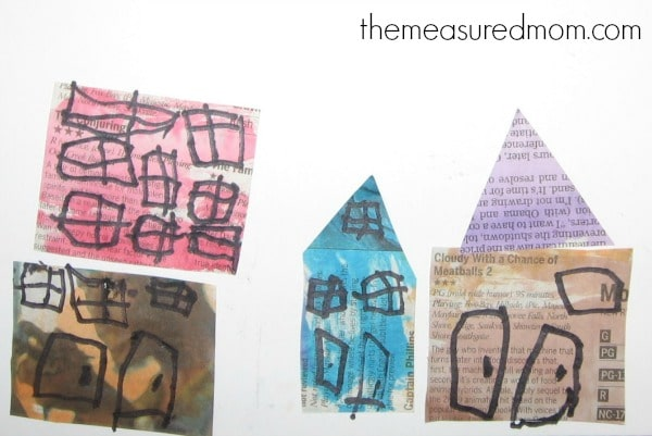 Looking for letter N crafts? You'll find a variety of process art and simple crafts over at The Measured Mom.
