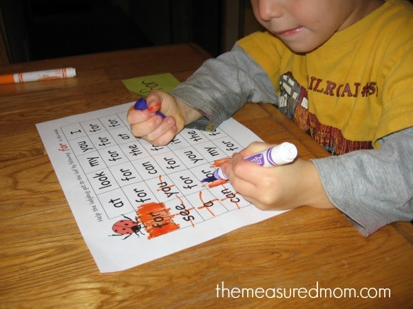 Sight Word Thanksgiving Loves These Sight Word