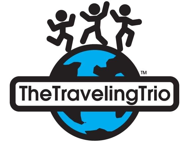 TravelingTrio logo
