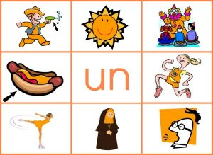 UN word family mat (reduced size)