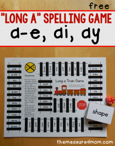free train game spelling game