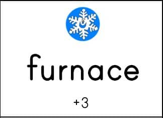 furnace Free winter spelling activity   a game for any word list! (grades 1 3)