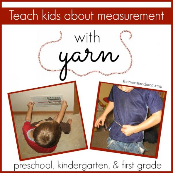 Teach Measurement To Kids With Yarn on T Transportation Letter Printables