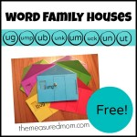 Free word family houses for short u the measured mom 150x150 Free Printables