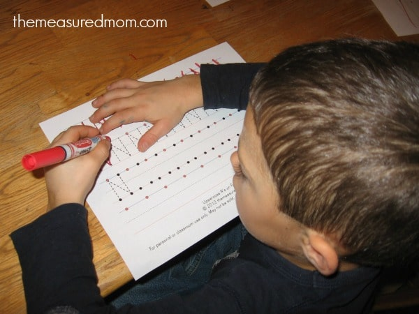 Make N 3b the measured mom Teach preschoolers to write the alphabet   Letter N