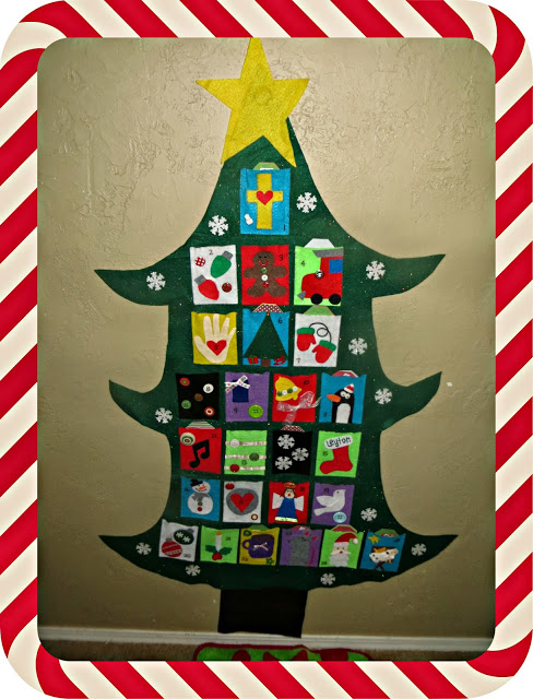 christmas countdown 10 the measured mom1 Countdown to Christmas ideas for kids! (and a new After School Link up)