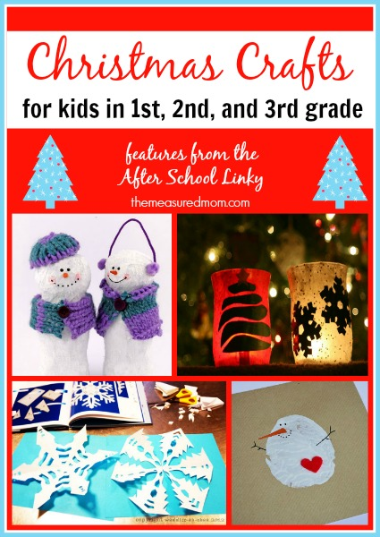 Christmas Crafts For First Second And Third Graders The Measured Mom