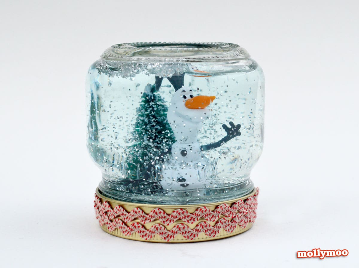 Christmas crafts for first second and third graders for Snow globe craft for kids