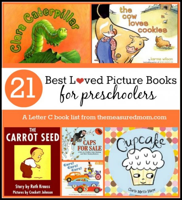 We've got both vintage and modern books in this great list of books to read for letter C!