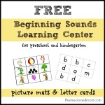 free beginning sounds learning center the measured mom 150x150 Free Printables