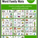 free long a word family mats the measured mom 150x150 Free Printables