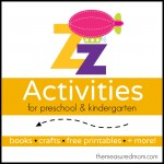 Letter Z Activities the measured mom 150x150 How to teach the alphabet to preschoolers