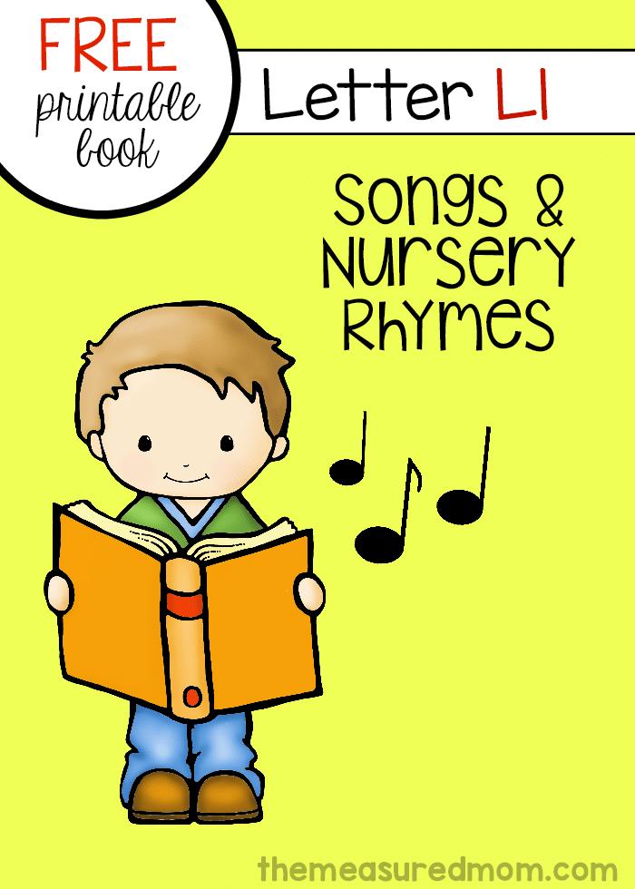 letter t songs for preschool letter l rhymes amp songs letter l book printable 320