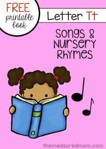 Little Letter T Book: Rhymes & Songs