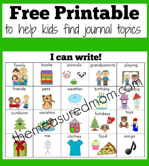 free writing topic ideas