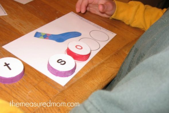 phonics practice activity 2 - the measured mom