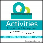 Letter O Activities the measured mom 150x150 How to teach the alphabet to preschoolers
