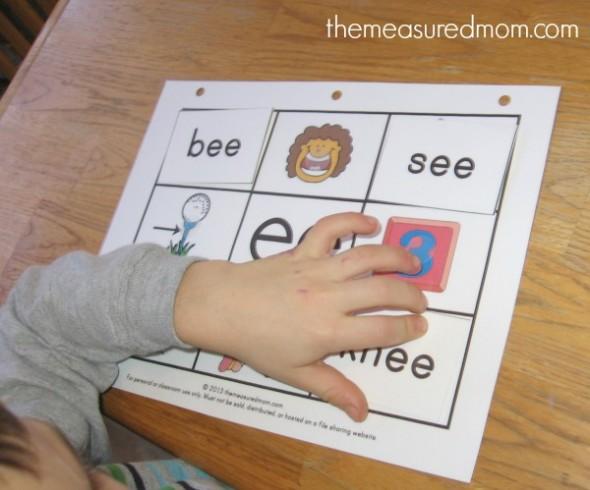 long e read 'n stick mat example
