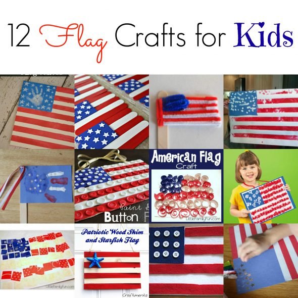 4th of july crafts 12 flag crafts