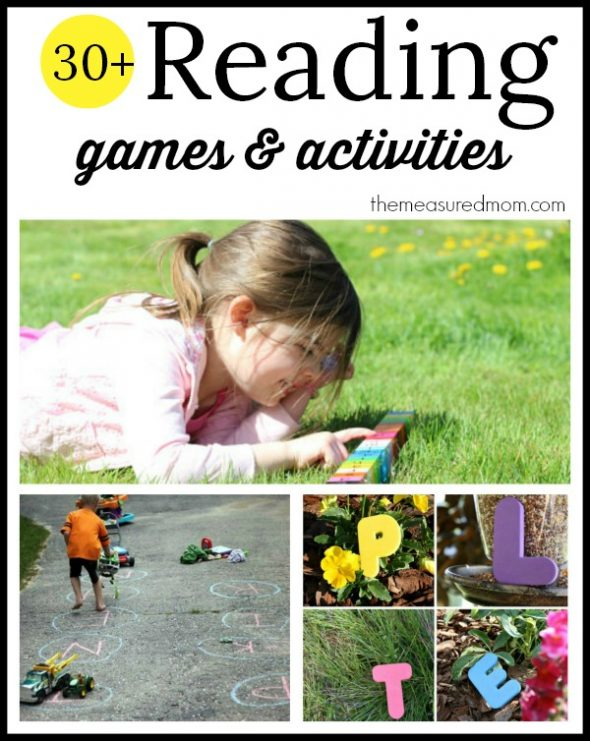 30+ phonics games and activities