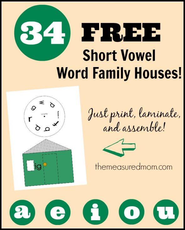 34-free-short-vowel-word-family-houses-the-measured-mom