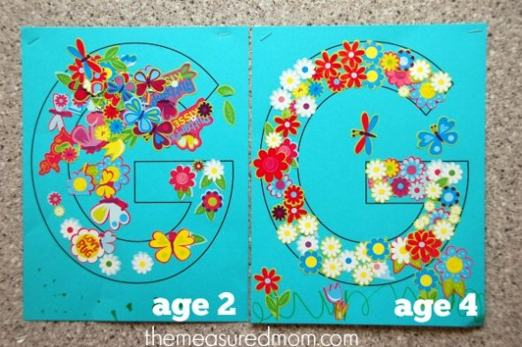 Simple letter g crafts for toddlers and preschoolers the for Garden crafts for preschoolers