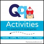 Letter Q Activities the measured mom 150x150 How to teach the alphabet to preschoolers