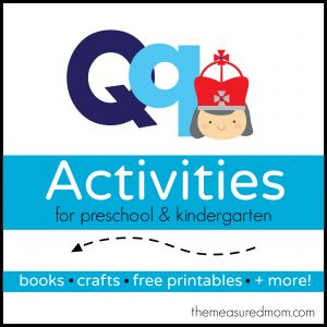 Letter Q Activities - the measured mom
