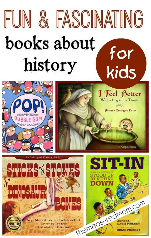 books about history for kids 590x929 Fun books about history for kids