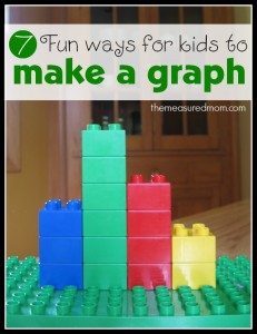 fun ways for kids to make a graph