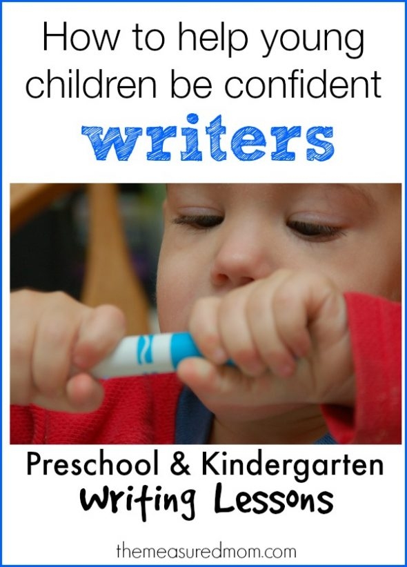 how to help young children be confident writers 590x822 How to help young children be confident writers
