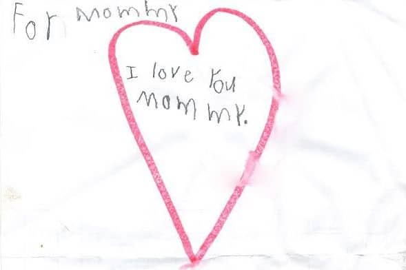 i love you mommy How to help young children be confident writers
