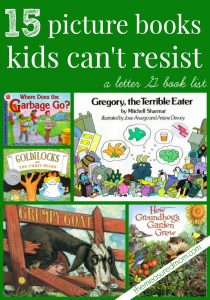 15 Favorite stories for kids – books for the Letter G