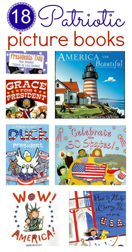 4th of July patriotic books