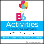 Letter B Activities2 150x150 How to teach the alphabet to preschoolers