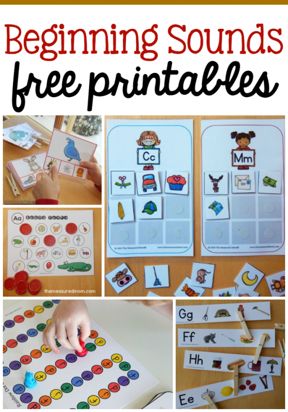 Free beginning sounds printable using letter tiles - The ...